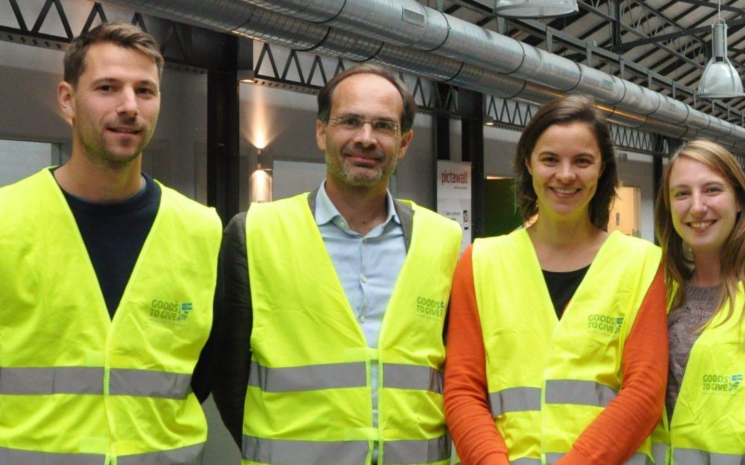 Persbericht: Goods to Give vormt vaste waarde binnen Belgische armoedestrijding 7/11/2018